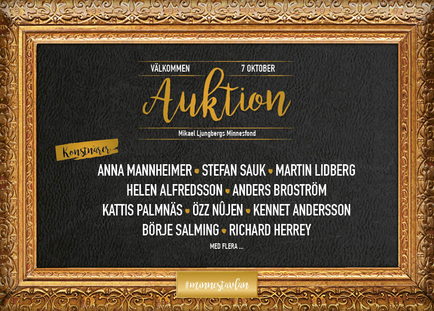 Mikael Ljungbergs Minnesfond Auktion
